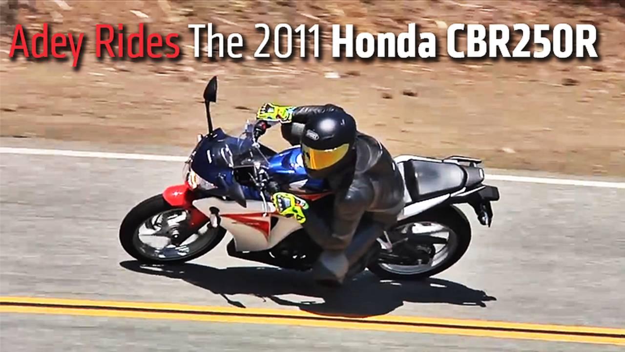Adey Rides The 2011 Honda CBR250R
