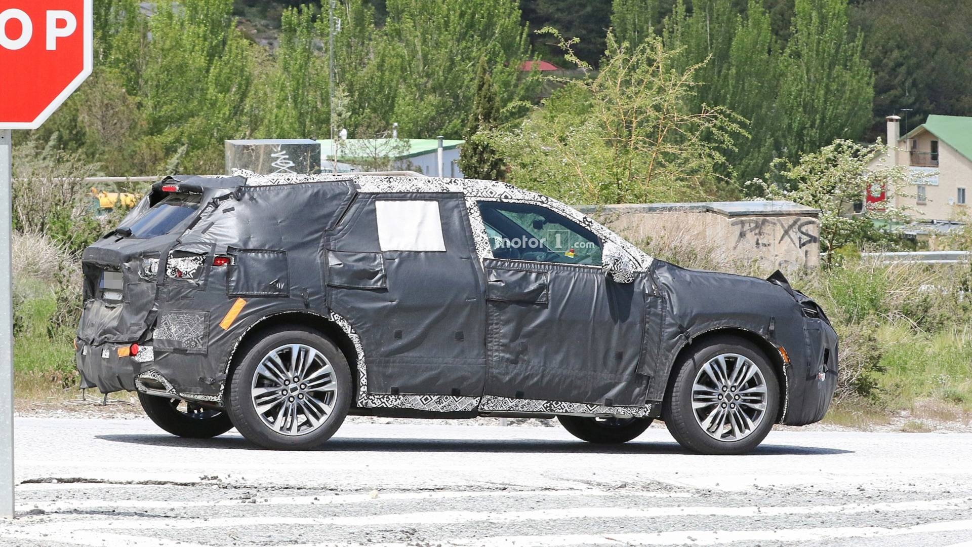 New Chevy Blazer Spied With Production Cues