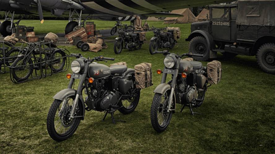 Royal Enfield Honors Flying Flea with New LE Model