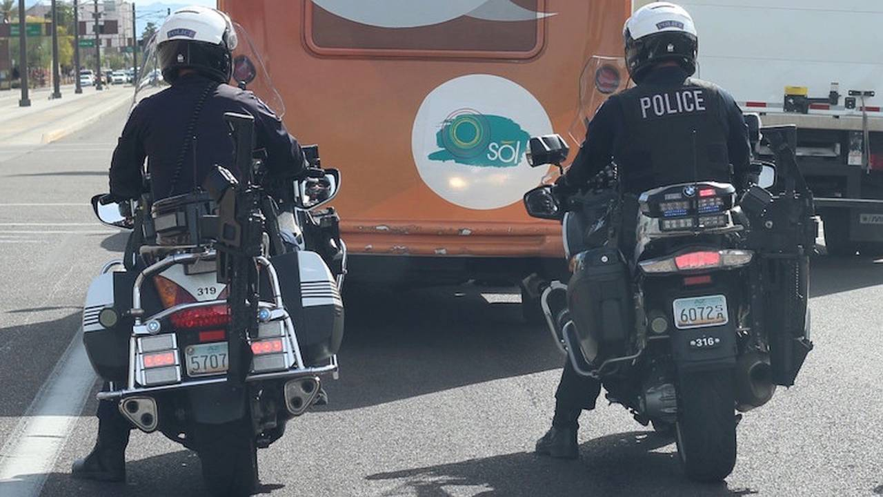 Arizona Police Department Equip Patrol Bikes with AR-15s