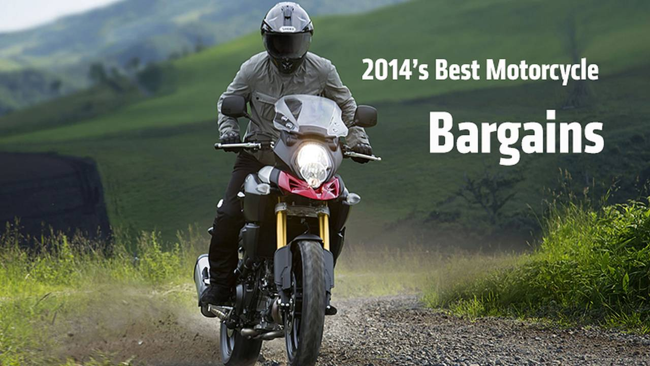 2014's Best Motorcycle Bargains