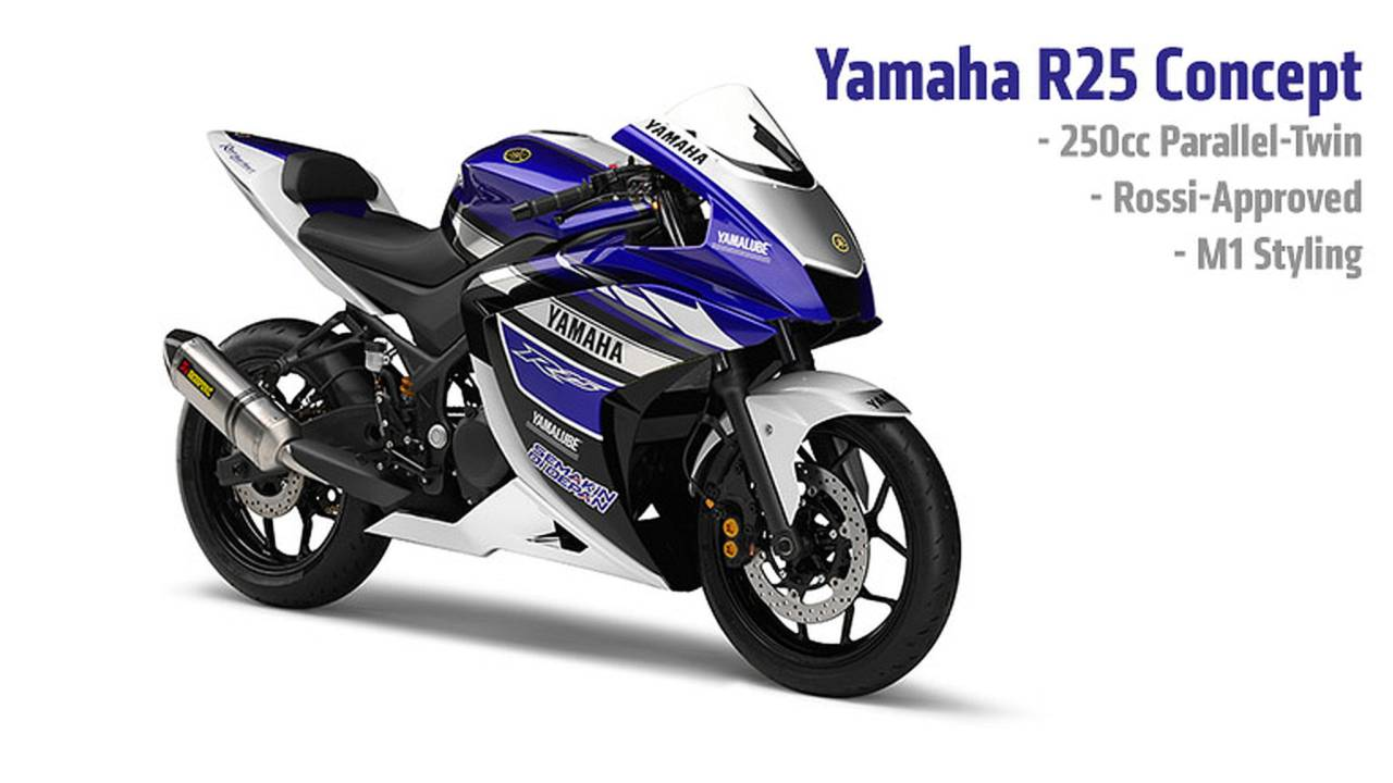 Yamaha R25 Concept — Official Photos, Specs and Video