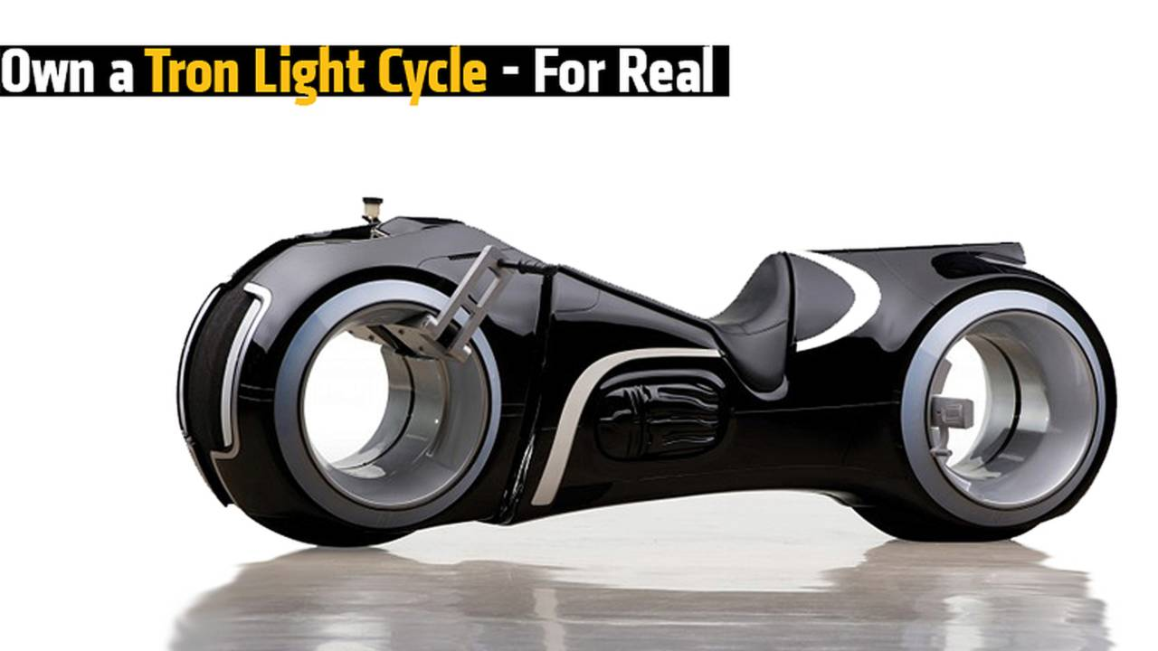 Own a Tron Light Cycle – In The Real World!
