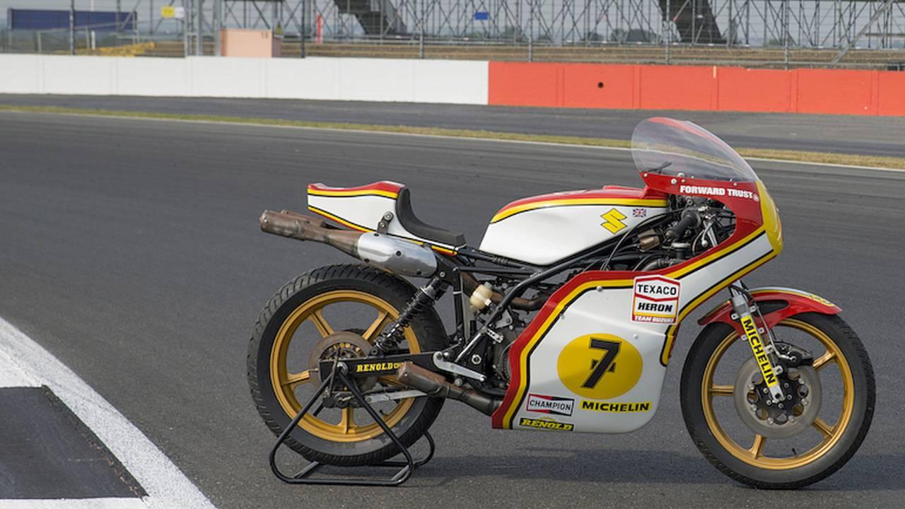 Suzuki Restores Barry Sheene's Racer