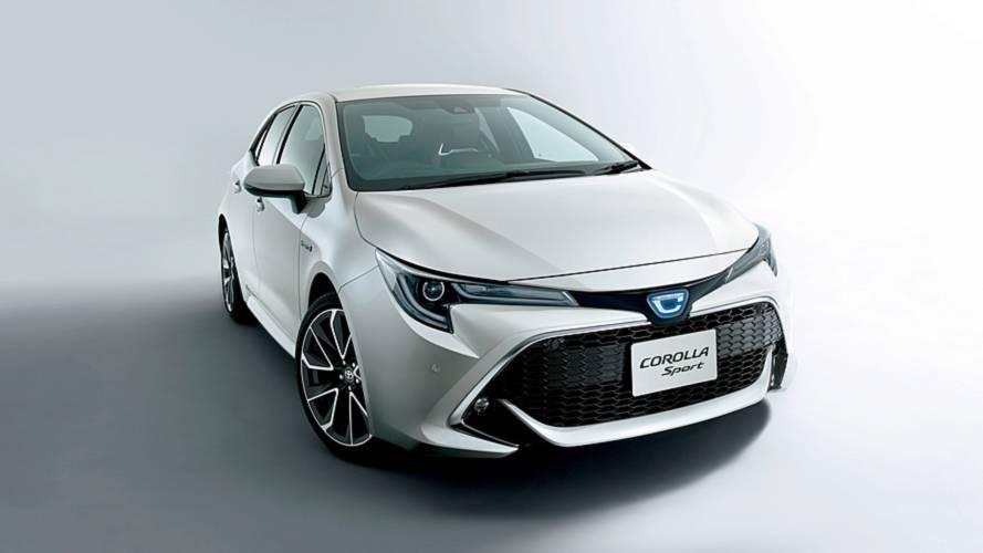 Novo Toyota Corolla hatch é lançado como Sport no Japão