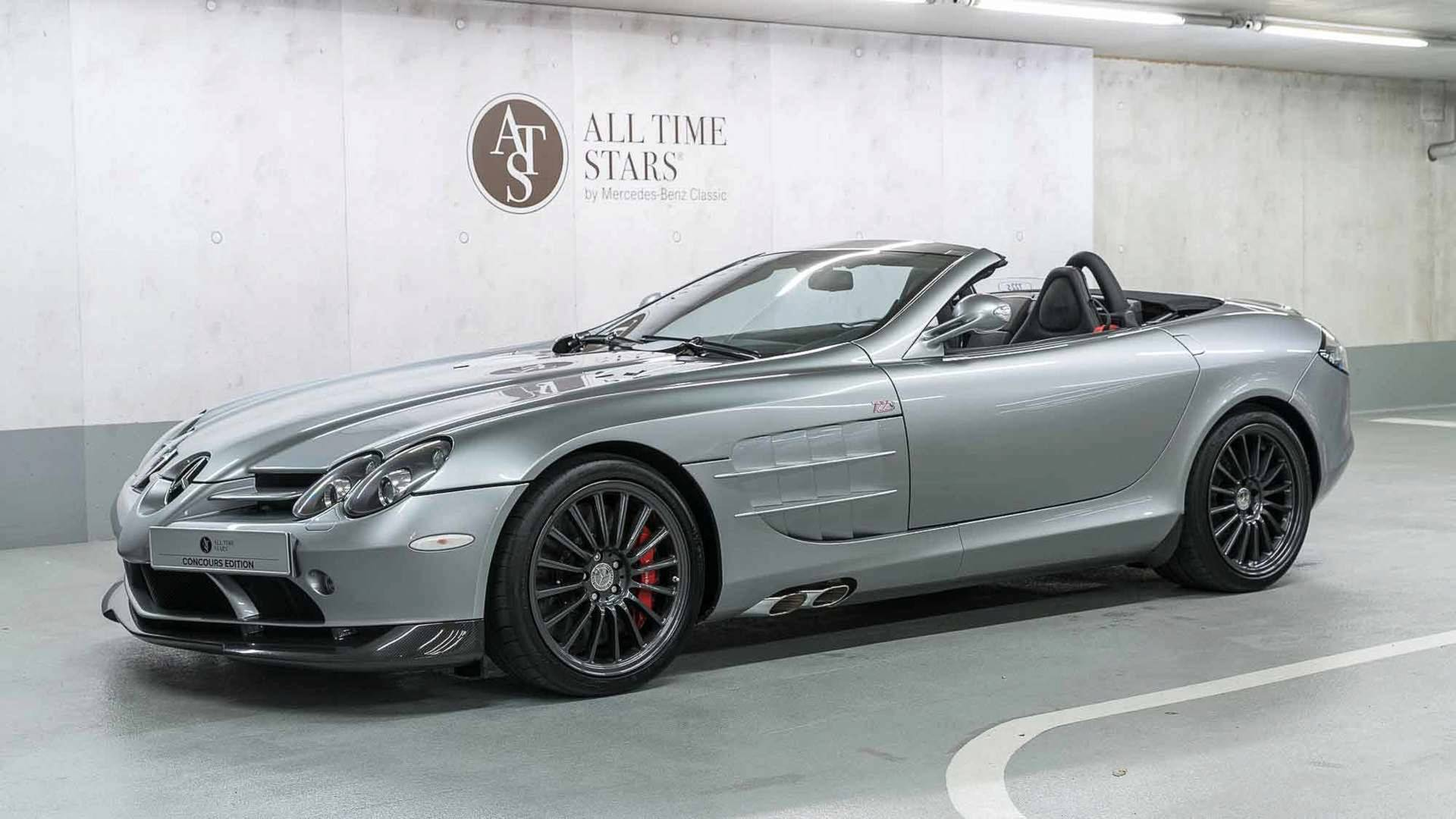 Mercedes Benz Selling Rare Slr Mclaren 722 S Roadster For 1 45m