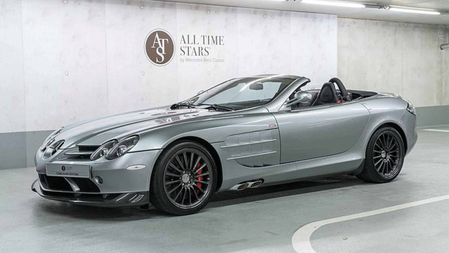 Mercedes-Benz Selling Rare SLR McLaren 722 S Roadster For $1.45M
