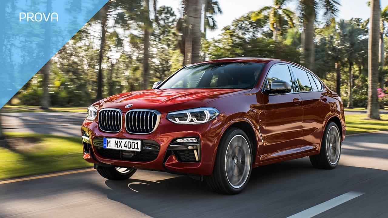 [copertina] Test Drive BMW X4