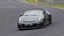 Porsche 911 Speedster Uncovered Spy Photos