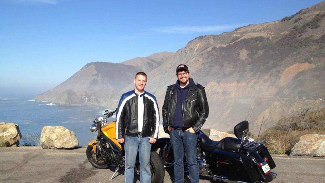 One of my favorite trips I've ever taken, riding up Hwy 1 with Greg Anthony