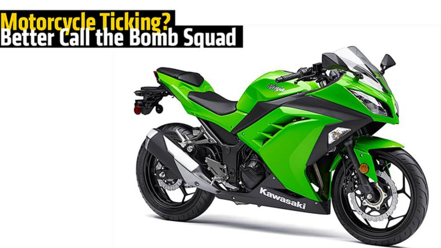 Motorcycle Ticking? Call the Bomb Squad