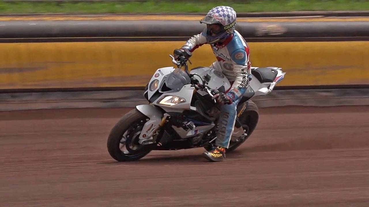 Bmw Car And Bike Go Drifting On Dirt Video