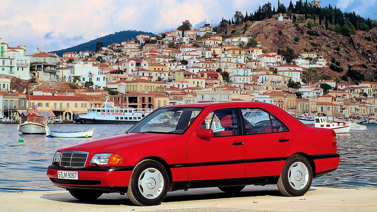 25 Jahre Mercedes C-Klasse