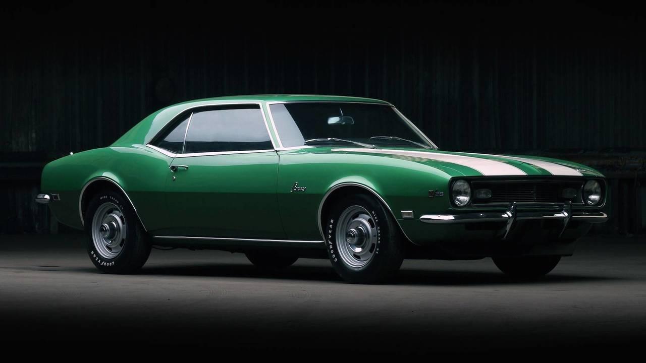 4. 1968 Camaro Z/28