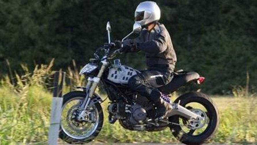 Leaked Online: 2014 Ducati Scrambler Spy Photo
