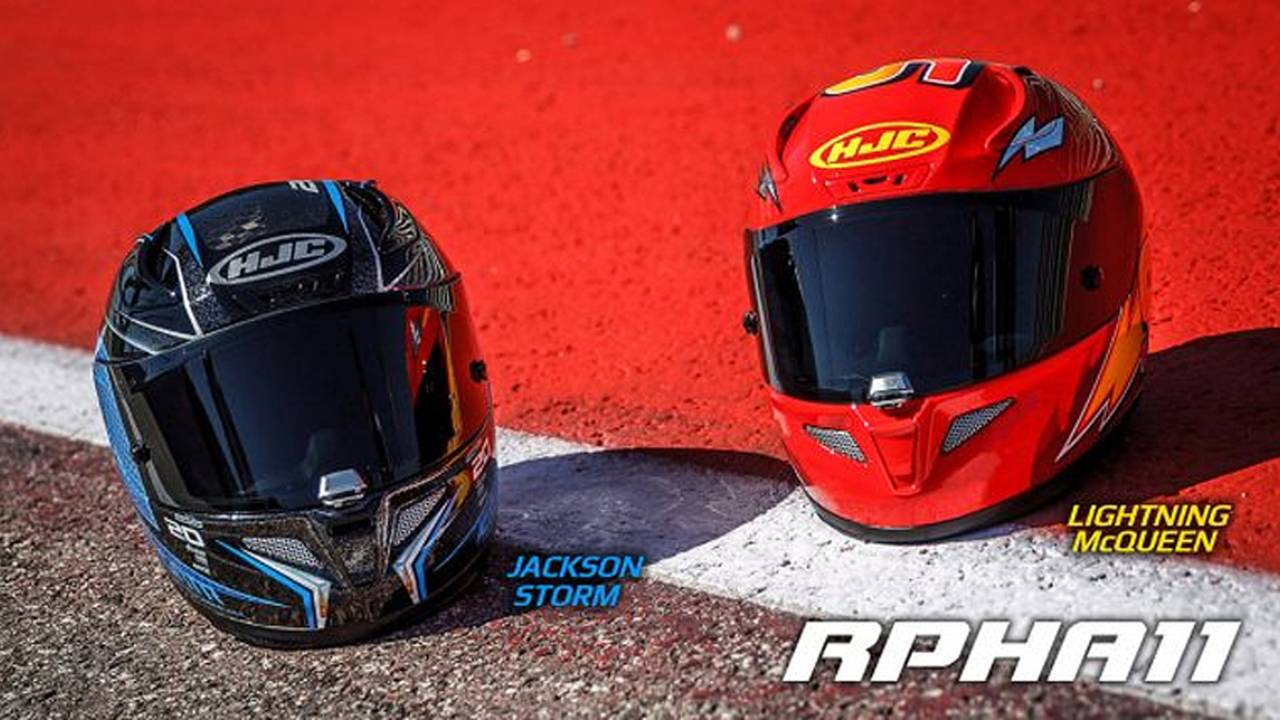 Hjc Rpha 11 >> Ka-Chow! - HJC Introduces Cars 3 Replica Helmets