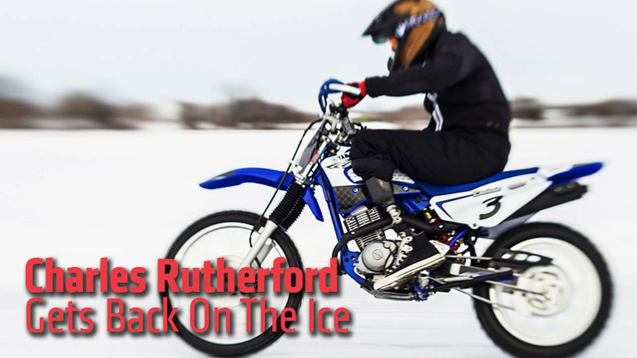 Charles Rutherford Gets Back On The Ice