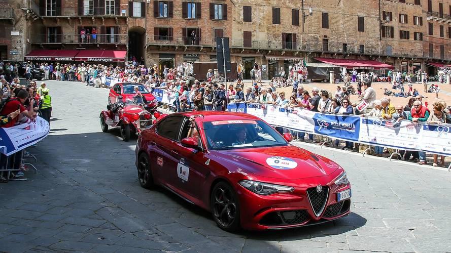 """Mille Miglia, """"mi sono perso"""" con un'Alfa Giulia Quadrifoglio"""