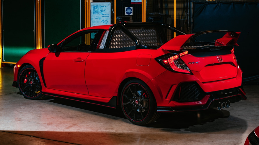 Honda Civic Type R Pick-up, 320 CV da lavoro