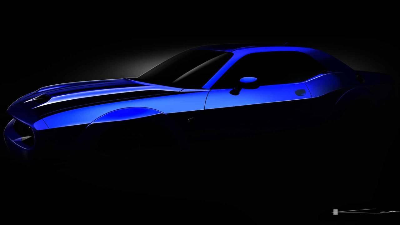 2019 Dodge Challenger SRT Hellcat Teaser'ları