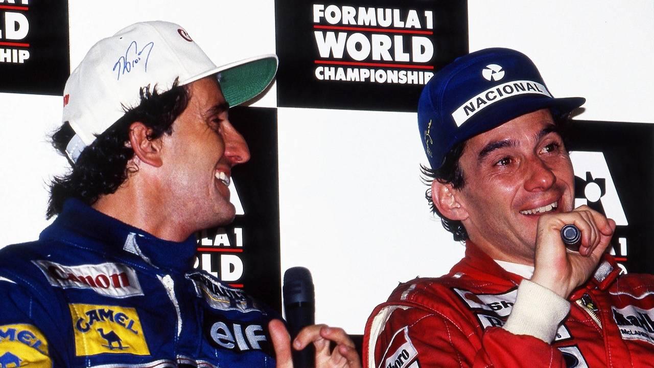 Prost et Senna