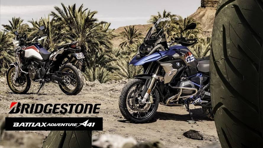 Bridgestone Battlax Adventure A41: de serie en cuatro motos de BMW