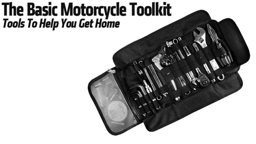 The Basic Motorcycle ToolKit — Tools to Help Get You Home