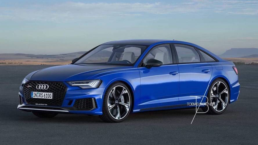 Audi RS6 Sedan render'ları