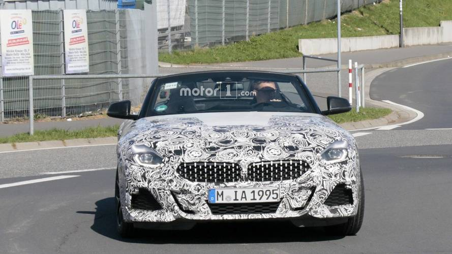 Photos espion BMW Z4 G29 sur le Nürburgring