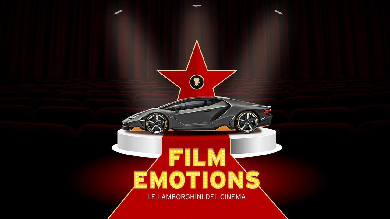Lamborghini, i 10 modelli che hanno fatto la storia del cinema