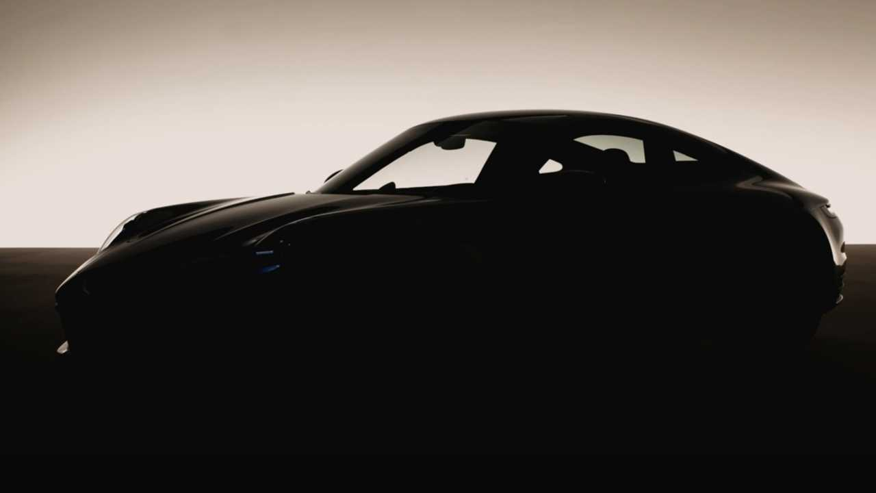 Teaser Porsche 911