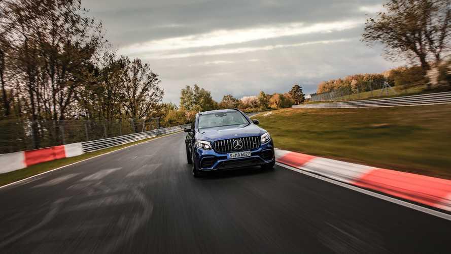 VIDÉO - Le Mercedes-AMG GLC 63 S bat le Stelvio QV sur le Nürburgring !