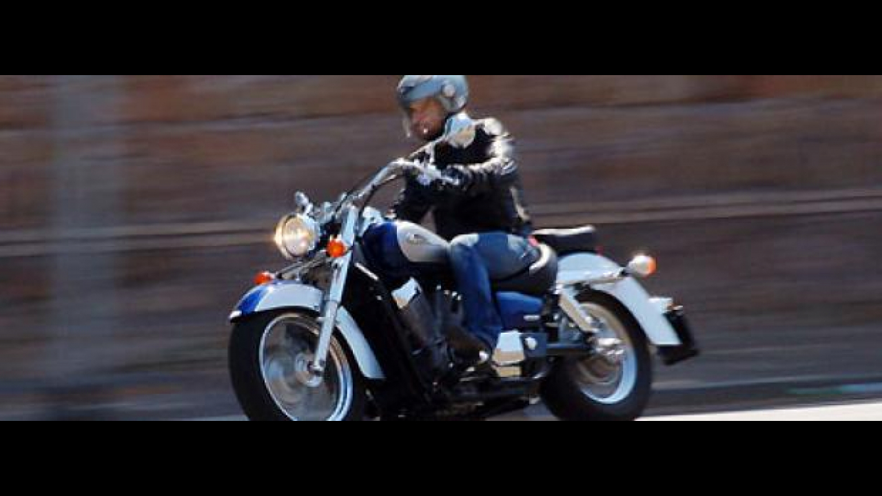 Honda Shadow 750 my 2009 - TEST