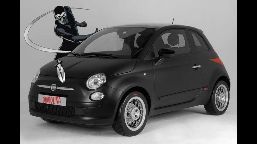 Fiat 500 Diabolika by Studiotorino