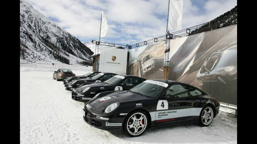 Porsche Driving School On ICE
