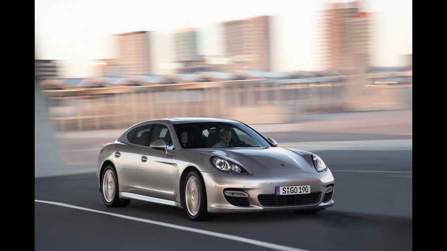 Da Techart un powerkit per la Porsche Panamera Turbo
