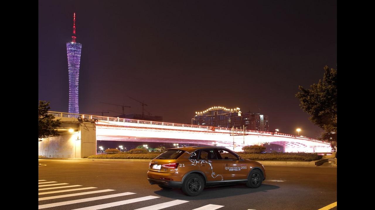 Audi Trans China Tour 2011