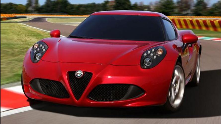 Alfa Romeo 4C è la prima Alfa a tornare negli USA