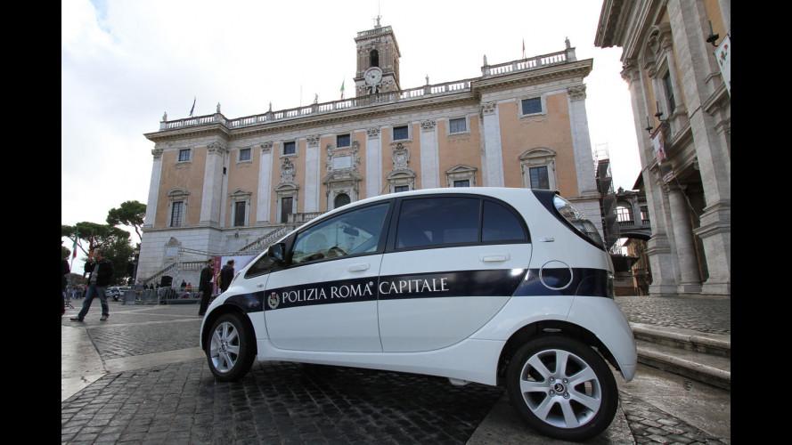 14 Citroen C-Zero a Roma Capitale