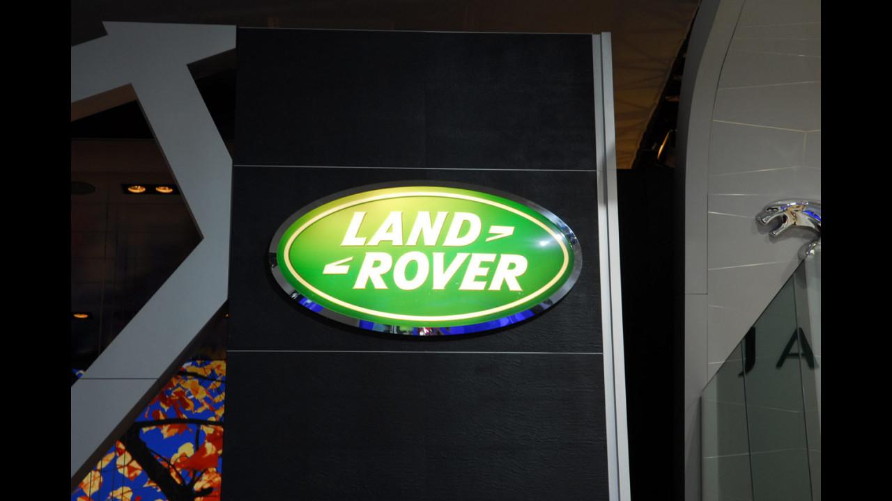 Land Rover al Salone di Parigi 2008