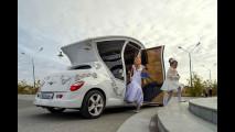 Chrysler PT-Cruiser trasformata in carrozza