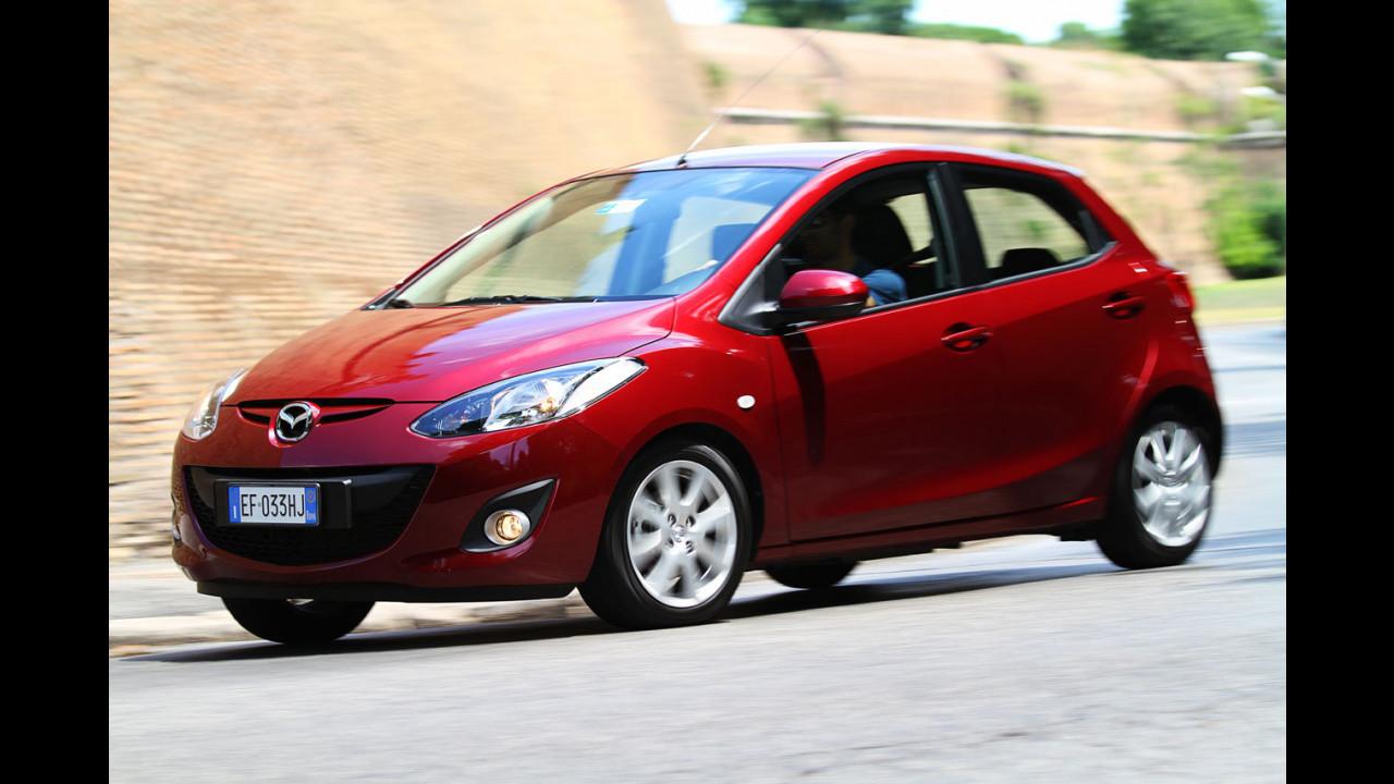 Mazda2 1.3 75 CV Trendy - Il Test