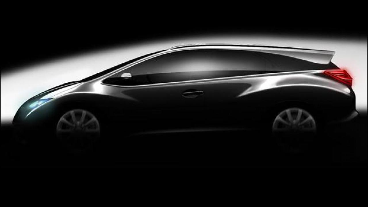 [Copertina] - E' in arrivo la Honda Civic station wagon