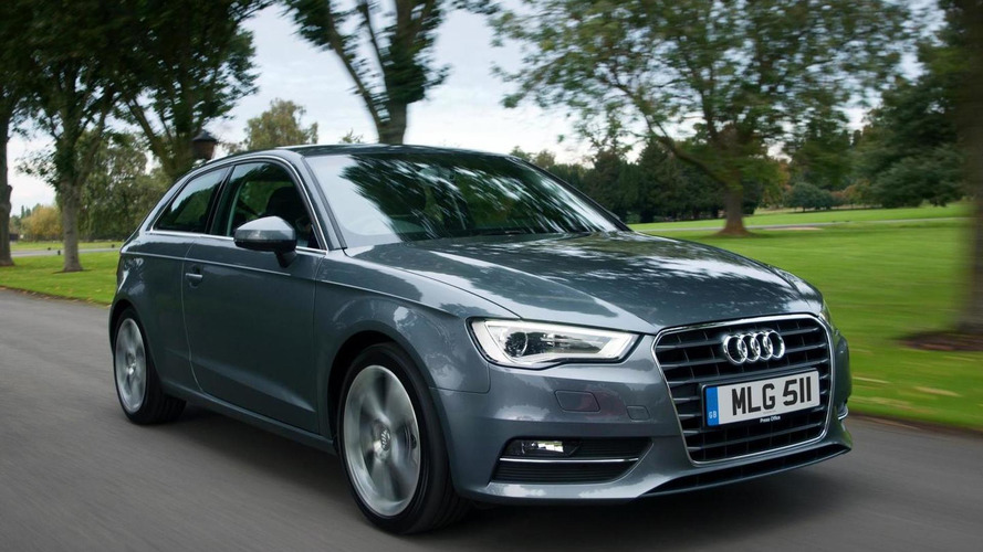 2013 Audi A3 now available with revised 105 HP 1.2 TFSI engine (UK)
