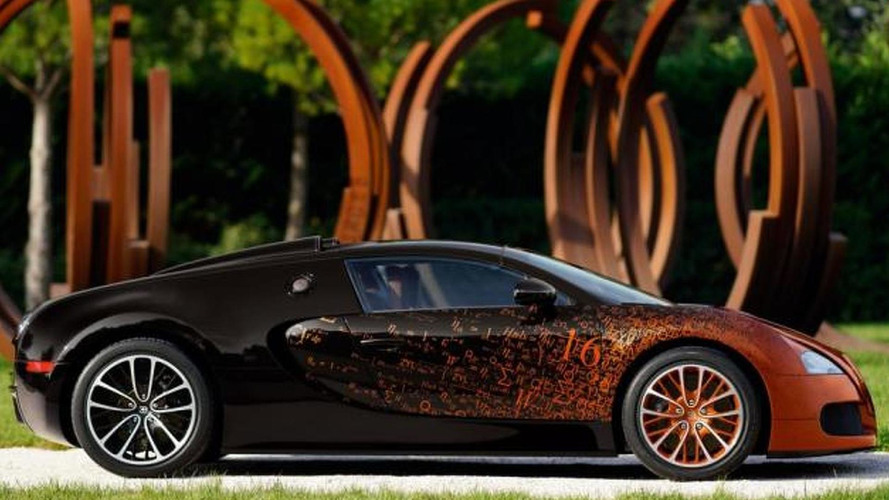 Bugatti Veyron Grand Sport Venet announced