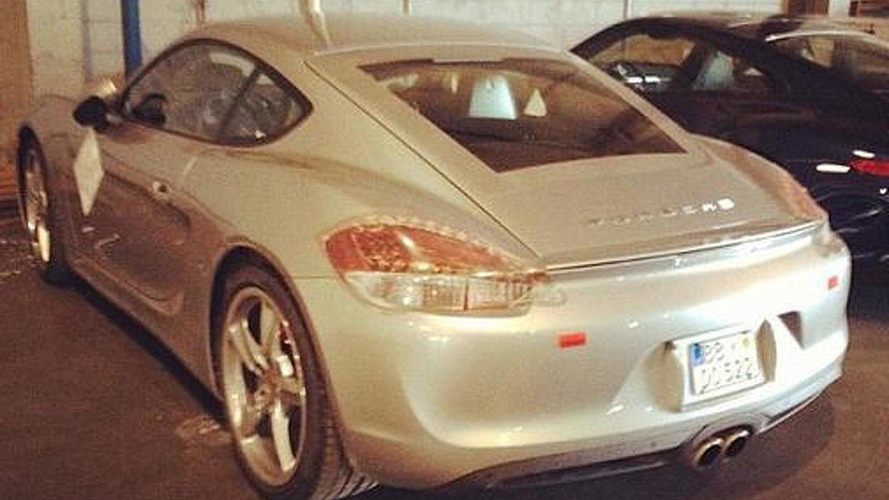 2013 Porsche Cayman caught virtually undisguised