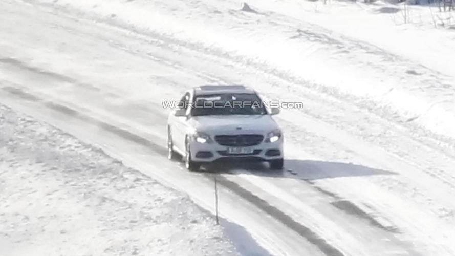 BREAKING: 2014 Mercedes-Benz C-Class spied without camouflage