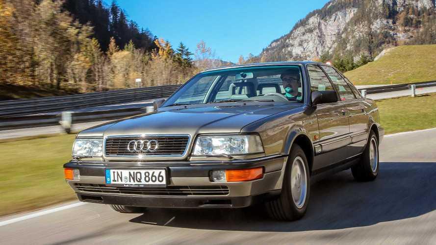 Zeitreise: Unterwegs im Audi V8 von 1988