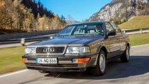 Zeitreise: Audi V8
