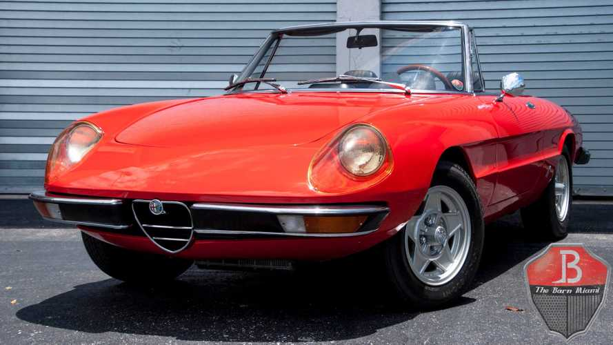 1971 Alfa Romeo 1750 Spider Veloce Is An Attractive Italian Roadster